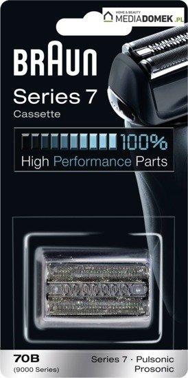 Braun 70B Kaseta Folia + Nóż do Series 7 Braun WROCLAW