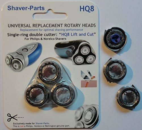 Shaver-Parts Philips HQ8 Lift Cut Głowice golące do golarek