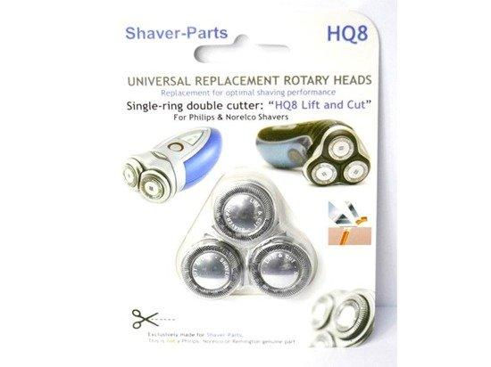 Shaver-Parts Philips HQ8 Lift Cut Głowice golące do golarek