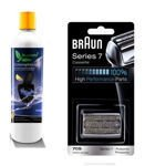 Zestaw Braun 70S Kaseta Folia + Nóż 9000 Series 7 Braun + 1 litr Biopretta CCR WROCLAW