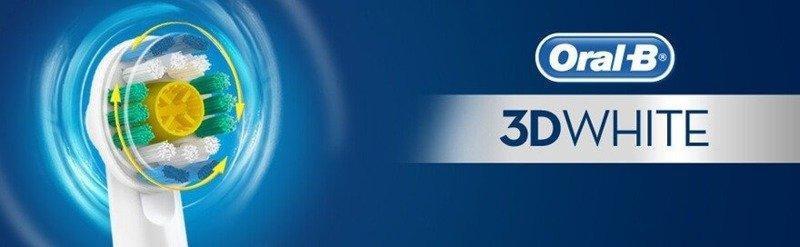 10 Końcówek BRAUN ORAL-B 3D-WHITE 100% ORYGINAŁ