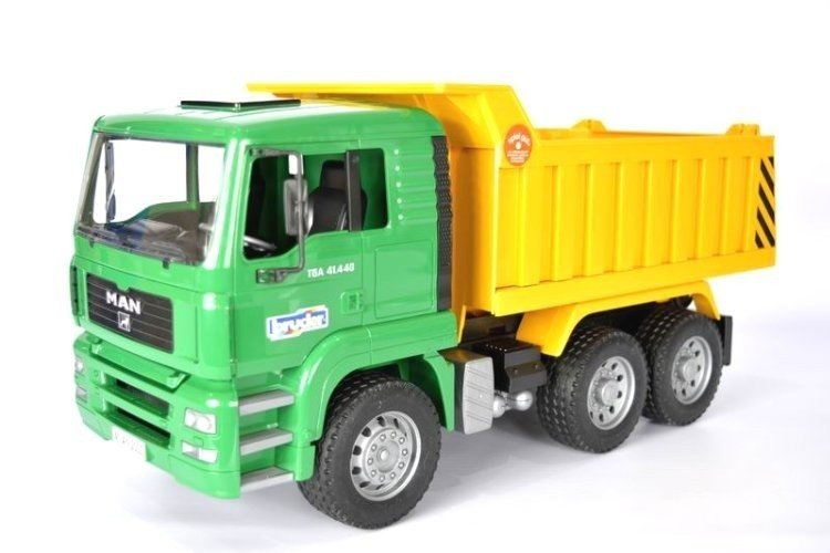 BRUDER 02765 MAN ciężarówka WYWROTKA