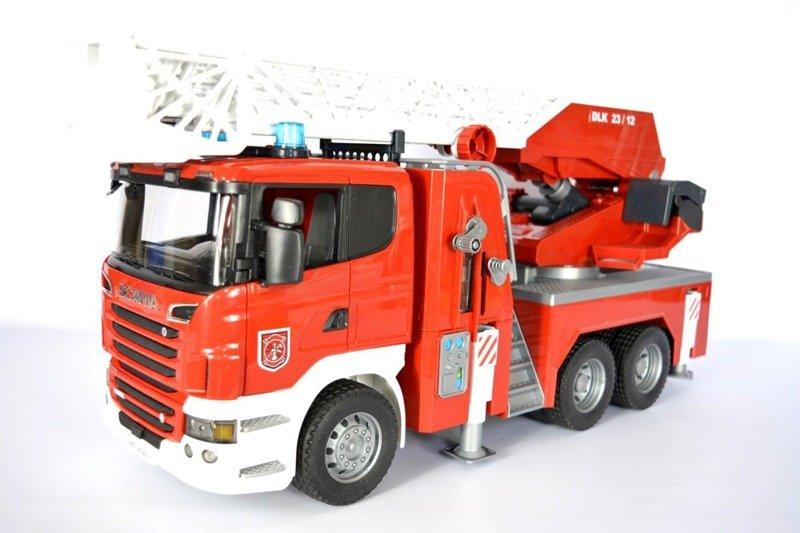 BRUDER 03590 SCANIA wóz strażacki