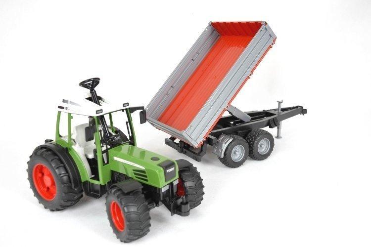 Bruder 02104 Traktor Fendt 209S z przyczepą 24h