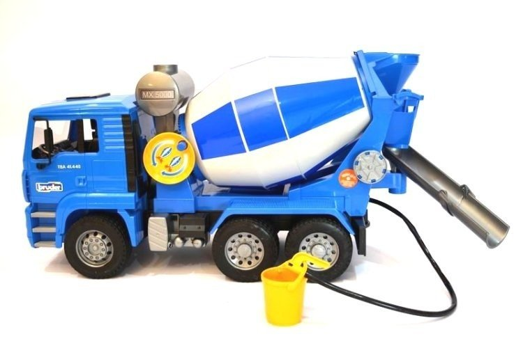 Bruder 02744 Man betoniarka zabawka dla dzieci 24h