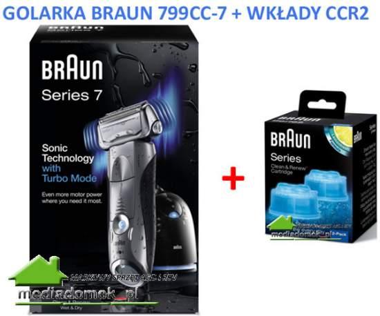 Golarka Braun 799CC -7 + CCR2 SERIES 7