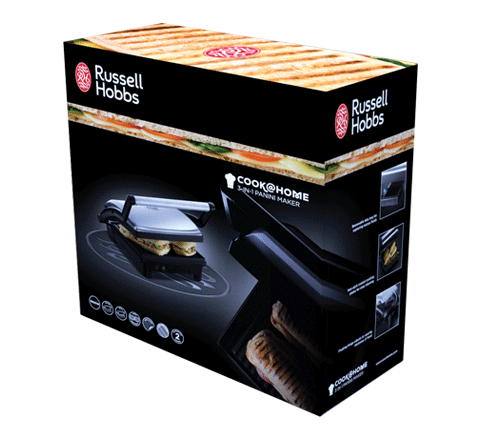 Russell Hobbs 17888-56 Cook@Home 3in1 opiekacz
