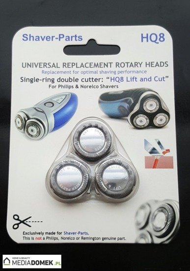 SHAVER-PARTS Ostrza do golarek Philips HQ8 Lift Cut