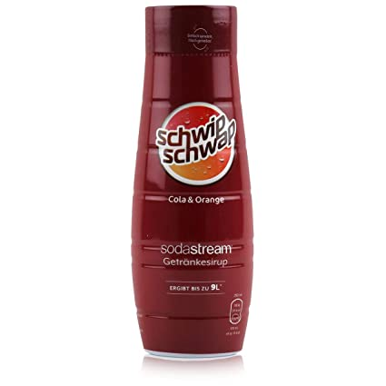 Sodastream Syrop Schwip Schwap Cola Orange 440ML