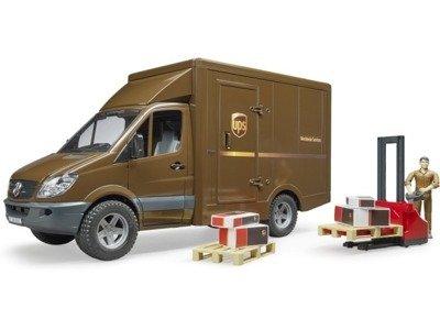 BRUDER 02538 Mercedes-Benz Sprinter UPS z figurką