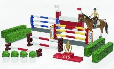 BRUDER 62530 bWorld parkur z figurką konia i jeźdź