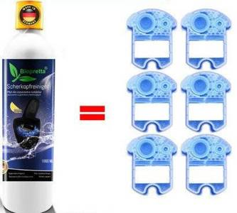 ZESTAW Braun Folia + Nóż 52S+1 Litr Biopretta CCR